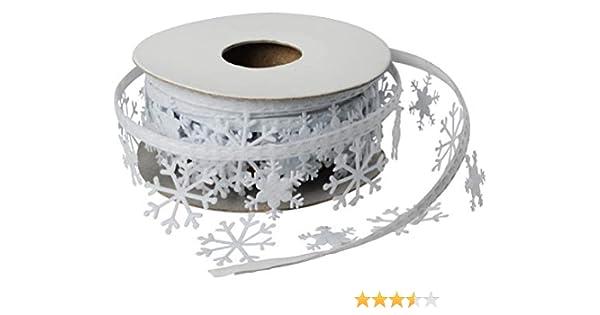 3m Dekoband Sterne Designband Geschenkband Hochzeit Winter Weihnachten