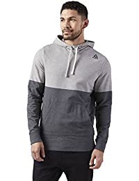 Reebok Yarn Dye Men's Sweatshirt - Men's Training Hoodie - CD5531