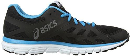 ASICS Gel-Zaraca 3, Herren Laufschuhe Training Schwarz (Onyx/Silver/Atomic Blue 9993)
