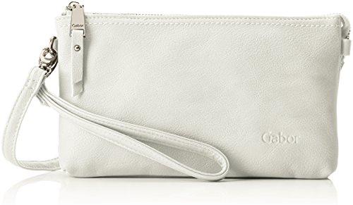 Gabor Umhängetasche Damen Emmy, (Weiß), 4,5x13,5x22,5 cm, Gabor, Clutch, Abendtasche