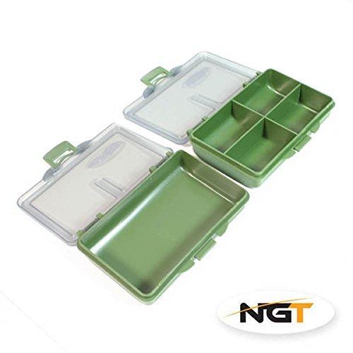 Preisvergleich Produktbild NGT grob Karpfenangeln 2Terminal Tackle Bit Box Boxen 1x 11x 4Wege NEU