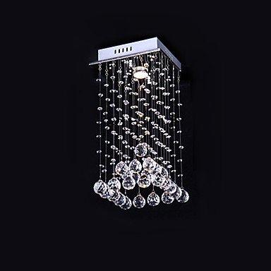 Chic elegante 1 luce montaggio a filo nel design di cristallo ( Tensione : 110-120V )