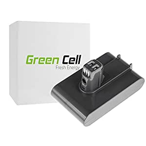 Green Cell® 64167-2713 Handheld Vacuum Cleaner Battery for Dyson (Li-Ion cells 2.5Ah 22.2V Type A)