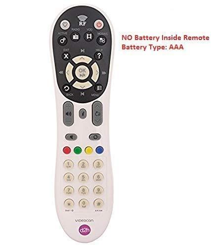 EARTHMA Remote Control Compatible for Videocon D2h RF Box