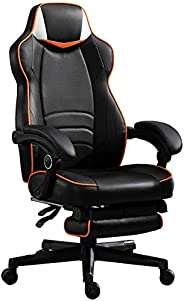 Mahmayi Omega Gaming, Reclining, Adjustable Height Chair accompanied by Usb Port required for Speaker compatib