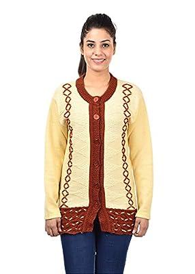 Pilot Full Sleeve Long Woolen Women Cardigan