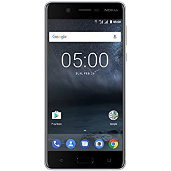 "Nokia 5 SIM doble 4G 16GB Plata - Smartphone (13,2 cm (5.2""), 16 GB, 13 MP, Android, 7.1.1, Plata)"