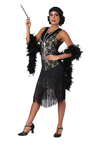 Fun Costumes Speakeasy Flapper Damenkostüm - M