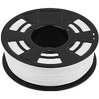 Eine Rolle 1KG 1.75mm ABS-Faden-Drucker-Druck-Material-Versorgungsmaterial-Rolle 3D Geeignet für Drucker 3D Drucker 3D - Weiß