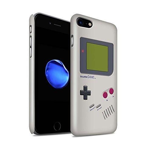 STUFF4 Glanz Snap-On Hülle / Case für Apple iPhone 7 Plus / Nintendo Game Boy Muster / Spielkonsolen Kollektion Nintendo Game Boy