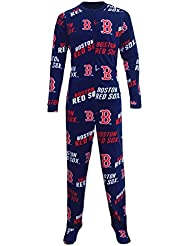"Boston Red Sox MLB ""Winner"" Men's Micro Fleece Union Suit"