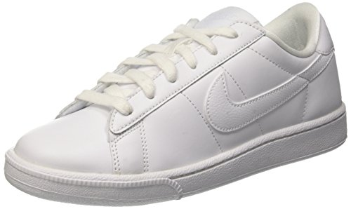 Nike Damen Wmns Tennis Classic Low-Top, Bianco (White/White/Bluecap), 40 EU (Tennis-schuhe Schnürung)