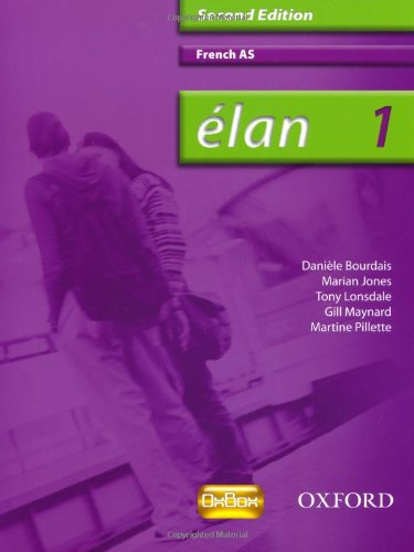 Élan: 1: AS Students' Book (Elan 2nd ed)