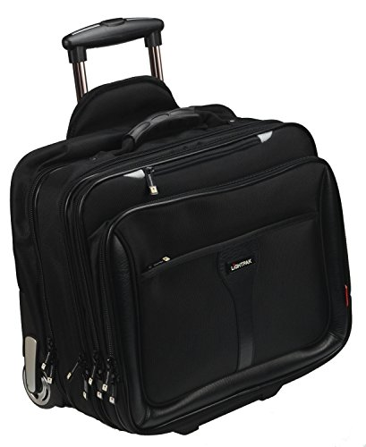 Lightpak 46102 - Business Trolley Executive Line BRAVO 2 aus Nylon, schwarz (Executive-aktenkoffer)