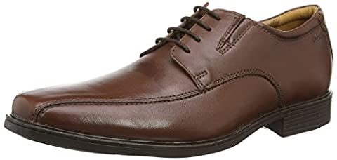 Clarks Tilden Walk, Men's Derby, Brown (Brown Leather), 9 UK (43 EU)