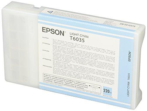 Epson T6035 (C13T603500) Original High Capacity Light Cyan Ink Cartridge lowest price
