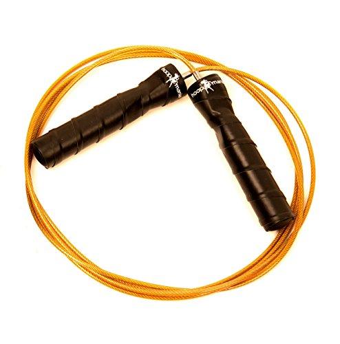 Hoopomania® Speed Rope II Springseil für Profisportler, Profiboxer, Crossfit auch für Anfänger + Bonus Tragetasche