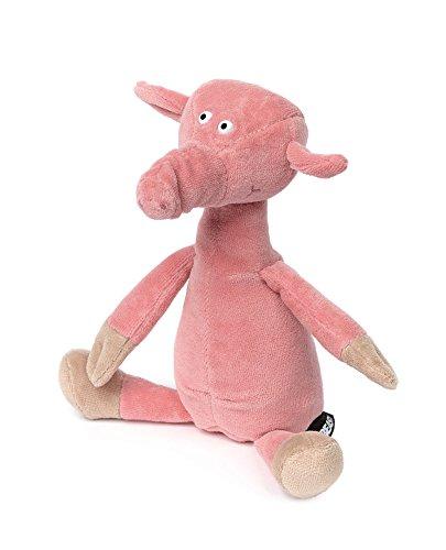 sigikid Beasts Kuscheltier für Erwachsene und Kinder, Schwein klein, Ach Good!, Pink, 38879