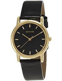 Sonata Analog Black Dial Men's Watch NM7987YL03W / NL7987YL03W