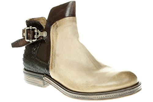 c29f4686ab18 A.S.98 818208-0202 - Damen Stiefelette Bikerstiefelette Boots -  0003-rino-choco
