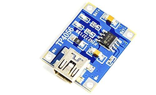 'o de ion de litio polímero batería tipo de extractor con TP4056chip controlador USB versión para por ejemplo Arduino, Micro Mini proyectos. = > Nuevo y embalaje original. perfecto para: Solar proyectos en el jardín solar Charger. carga de una ce...