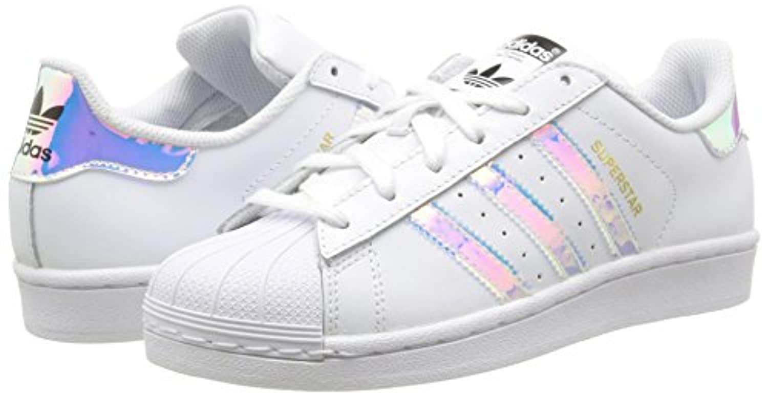 adidas Superstar, Baskets Basses Mixte Enfant, Blanc (FTWR White/FTWR White/