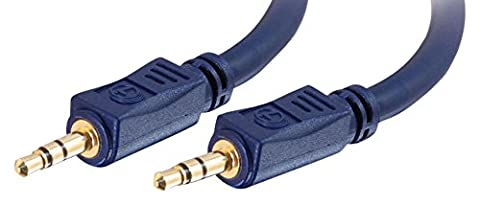 Cables To Go Câble stéréo/audio M/M Velocity 3.5mm 15 m
