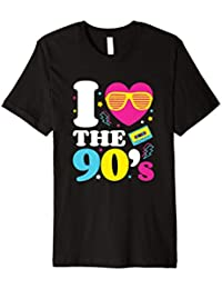 I love the 90er's T-Shirt Retro 90er Jahre Kostüm Party