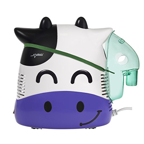Promedix PR-810 - Nebulizador compresor de aire, Vaquita sonriente para...