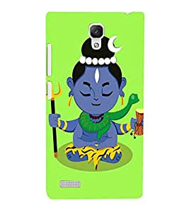 For Xiaomi Redmi Note :: Xiaomi Redmi Note 4G shiva, trishul, god, lord, bhagwan, jesus, allah, christrian Designer Printed High Quality Smooth Matte Protective Mobile Pouch Back Case Cover by BUZZWORLD