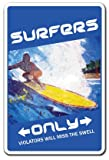 Best Wax For Car Scratches And Chips - SURFERS ONLY Sign surf board surfer wax chick Review