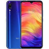 Xiaomi Redmi Note 7 Smartphones 6,3'' Schermo intero, Dual SIM, 4GB RAM + 64GB ROM, Snapdragon 660 Mobile, processore Octa-Core, Colore Blue Neptune
