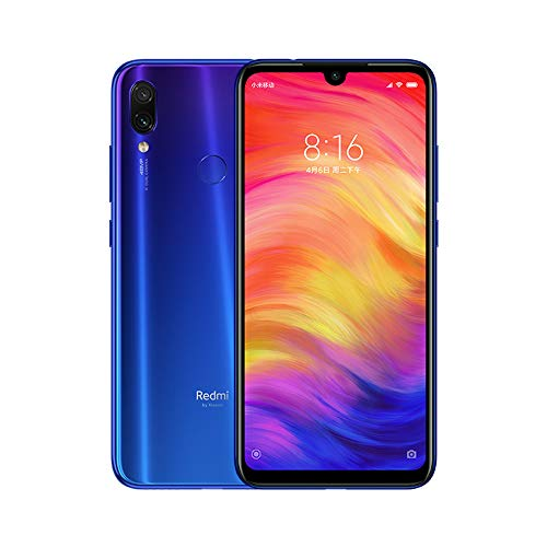 Xiaomi Redmi Note 7 Smartphones de 6.3'' fullscreen, 3GB RAM + 32GB ROM, Snapdragon 660 Octa-core processor, 13MP front and 48MP + 5MP rear camera Dual Mobile Phones (Blue gradient)