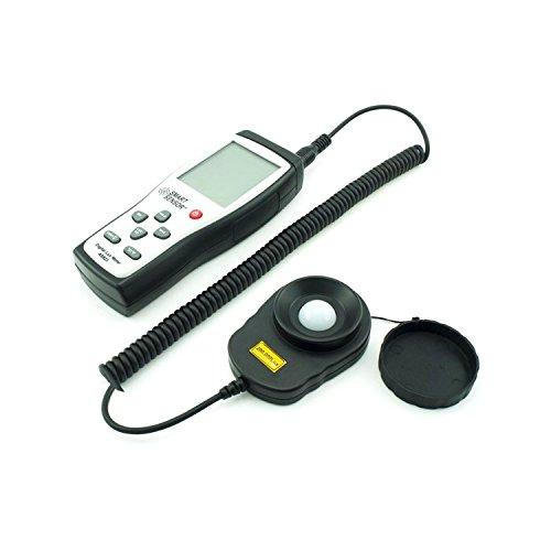 Digital Lux Meter Photometer Illuminometer Spektrometer Spektralphotometer Hohe Präzision Belichtungsmesser 200,000lux AS823 Meter Scientific Measurement