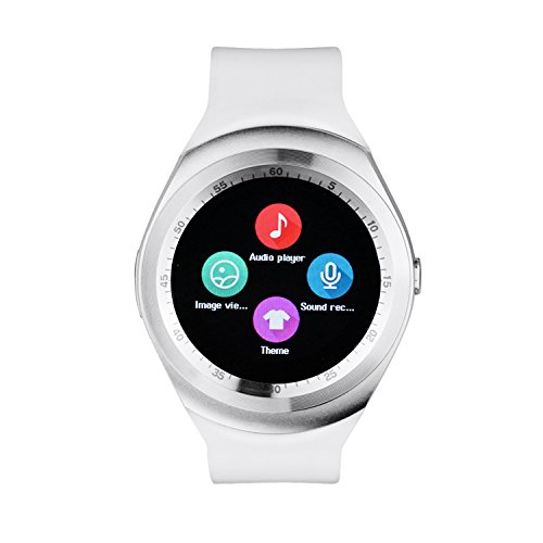 ESTAR Bluetooth Smartwatch with SIM Card Support | Android 5.1 OS | Facebook | Whatsapp | Activity Tracker | Fitness Band | Music | Micro SD card Support COMPATIBLE with Micromax Bolt A71  available at amazon for Rs.1999