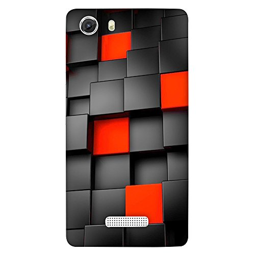 FASHEEN Premium Designer Soft Case Back Cover for Micromax Unite 3 Q372