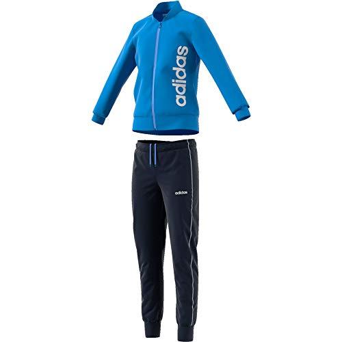 adidas Performance PES Jogginganzug Kinder hellblau/dunkelblau, - Hellblau Adidas Jacke