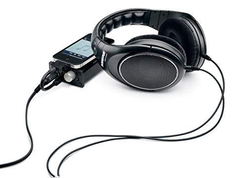 Shure SRH1440 Professionelle Kopfhörer mit offener Rückseite, Schwarz - 6