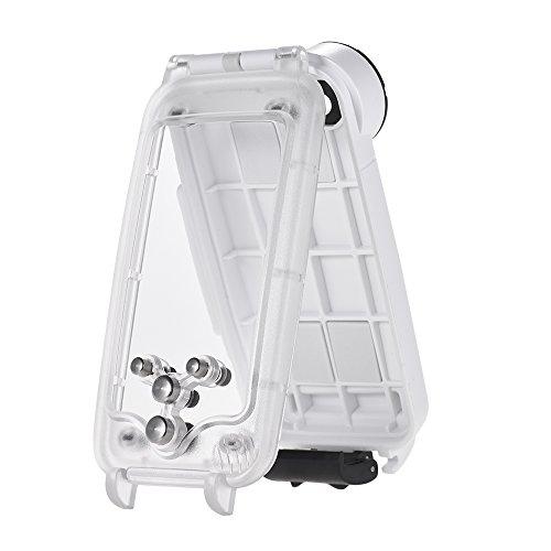 Leslaur Tauch-Handy-wasserdichte Gehäuse-Smartphone-schützende Fall-Abdeckung Unterwasser40M / 130ft für iPhone 8 (Smartphone-wasserdicht Schützende)