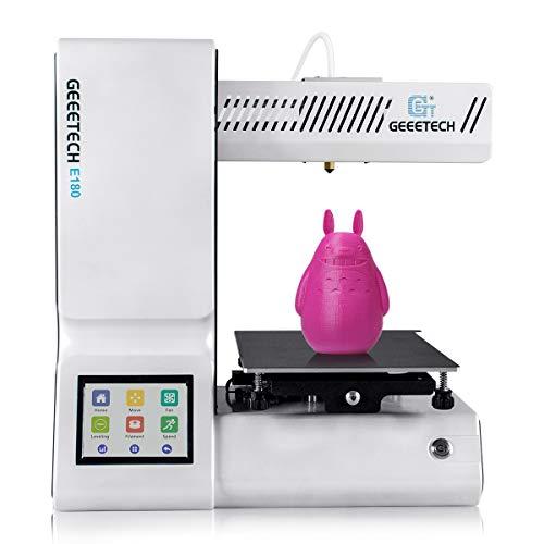 GIANTARM geeetech E180 Mini imprimante 3D avec écran Tactile 3.2 Couleurs.
