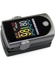 Pulsoximeter Fingerpulsoximeter MD300C316 OLED Farbdisplay inklusive Software für die Auswertung der Messdaten und viel Zubehör!