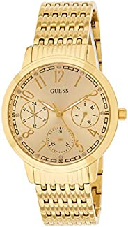 Guess Womens Quartz Watch, Analog Display and Stainless Steel Strap W1088L1