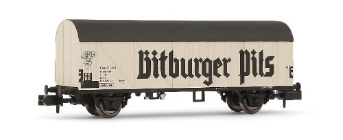 arnold-hn6241-modelisme-ferroviaire-wagon-frigorifique-bitburger-pils-type-tnfhs-db