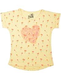 Palm Tree Girls' Cotton T-Shirt