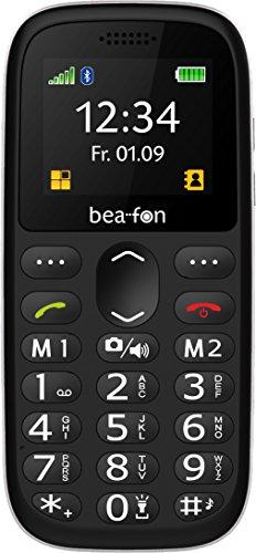 Image of Beafon Handy SL160 (Bluetooth, Freisprechfunktion und Vibrationsalarm) Schwarz/Silber