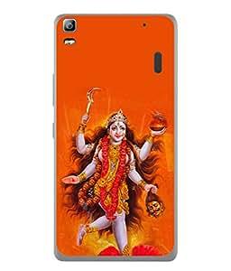 Snapdilla Designer Back Case Cover for Lenovo A7000 :: Lenovo A7000 Plus :: Lenovo K3 Note (Design Statue Background Wallpaper Hindu Art Culture)