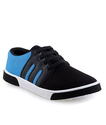 Earton-Men-Canvas-Blue-Casual-Shoes-Sneakers-Shoes