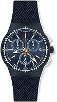 Swatch Reloj Cronógrafo de Cuarzo para Hombre con Correa de Silicona – SUSN410 de Swatch