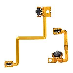 GOZAR Linke Rechte Schultertaste Mit Flex-Kabel Für Nintendo 3Ds L/R-Schalter