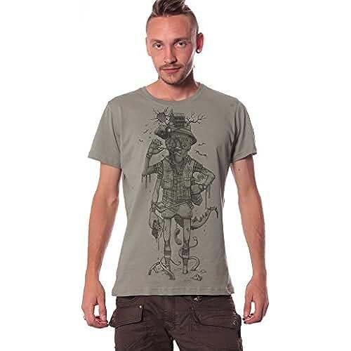 dia del orgullo friki Hunter S. Thompson en Miedo y asco en Las Vegas - Camiseta con diseño gráfico original para hombre